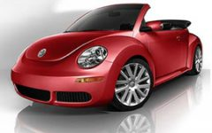 VW Beetle Turbo Cabrio